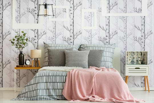 Wallpaper is making a comeback, bringing a new spin to the ever-popular accent wall.