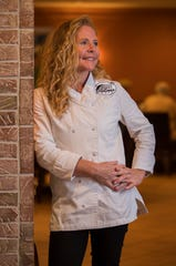 Executive chef Melissa Donahue of Sweet Melissa's Cafe on Sanibel.