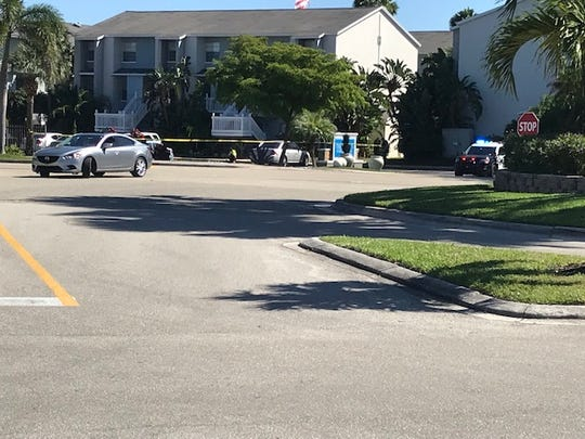 Police have The Laurels Apartments roped off as well as portions of Winkler Avenue and Solomon Boulevard to deal with an armed man who had barricaded himself inside his apartment.