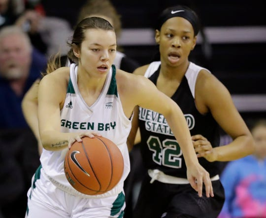 UW-Green Bay guard Hailey Oskey is among the Phoenix's injured players to start the season.
