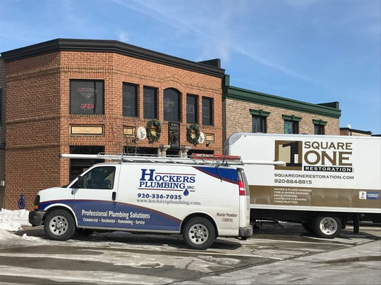 Cleanup crew trucks have been outside Nicky's Lionhead for the last few days as they work to clean up after a March 5 fire caused about $50,000 in damage to the De Pere bar and restaurant.