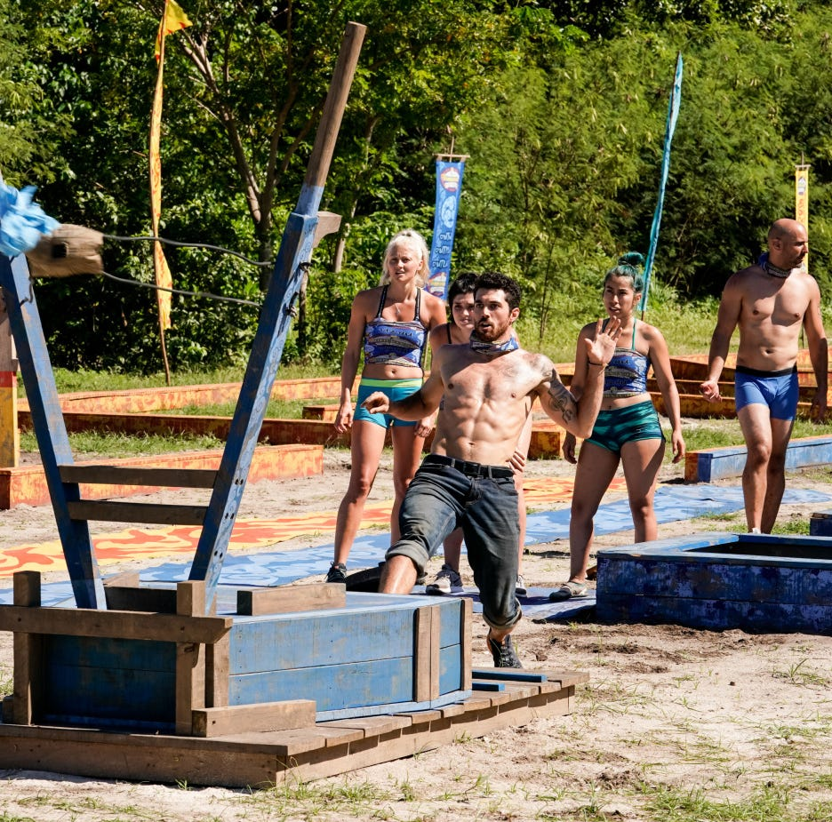 'Survivor' Week 3: Greenville's Chris Underwood faces big challenges