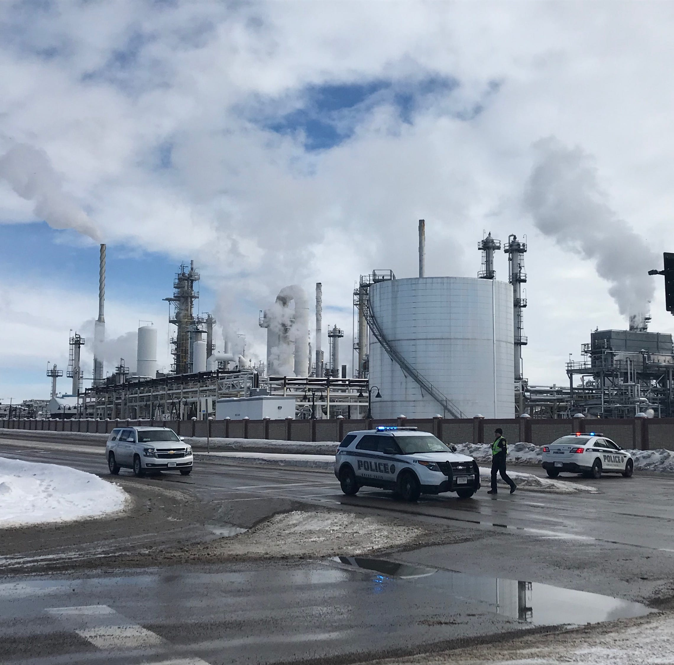 UPDATE: Roads around Calumet Refinery reopened to traffic in Great Falls