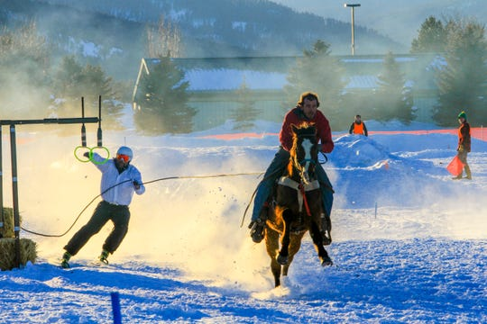 Skijoring event at Rebecca Farms canceled due to warm temps, lack of snow.