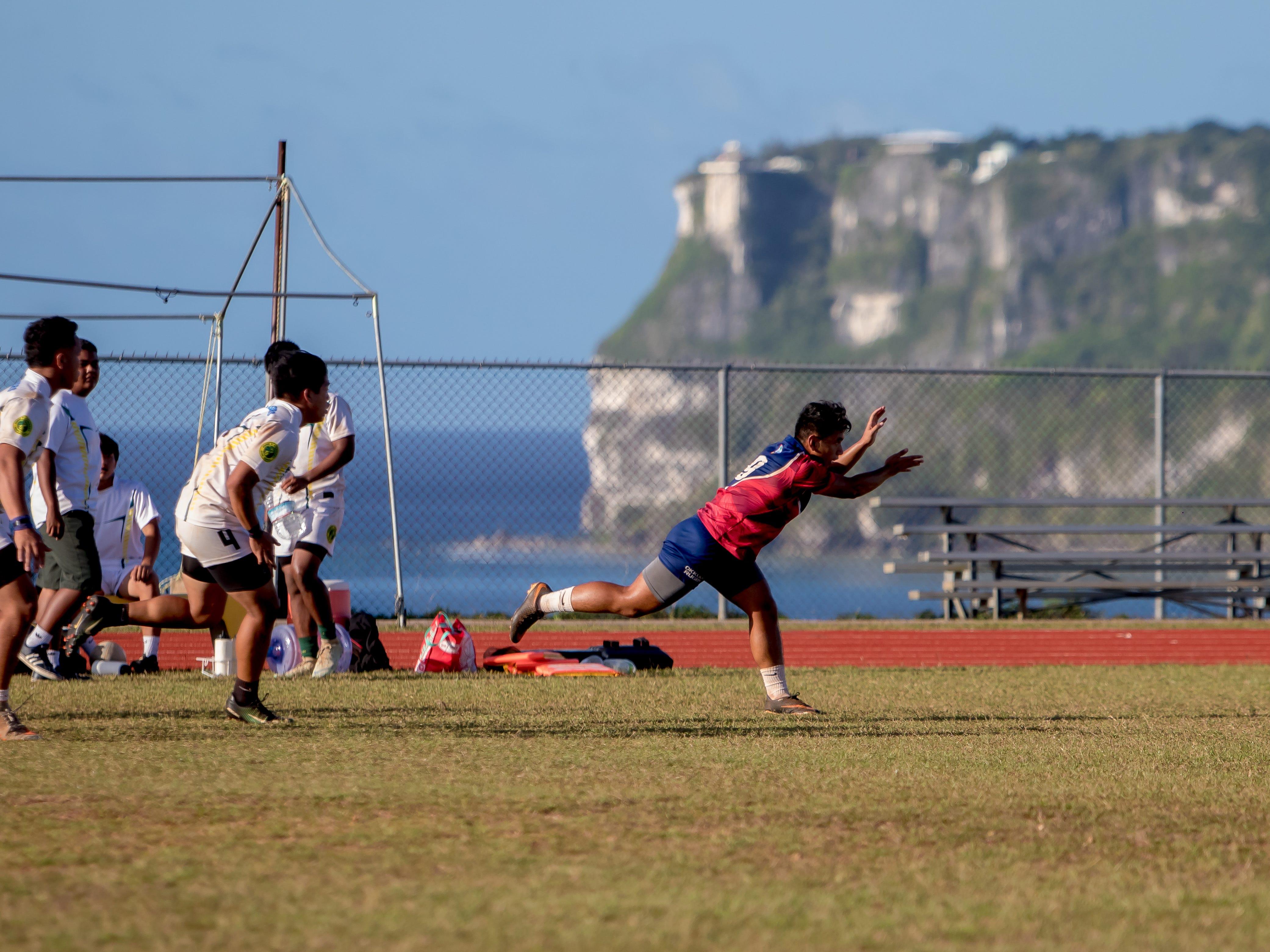 JFK faced Okkodo inj  an IIAAG/GRFU Boys Rugby match at Ramsey Field on March 6.