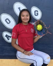 The Academy Cougars' Ashley Mendiola is the Pacific Daily News Player of the Week.