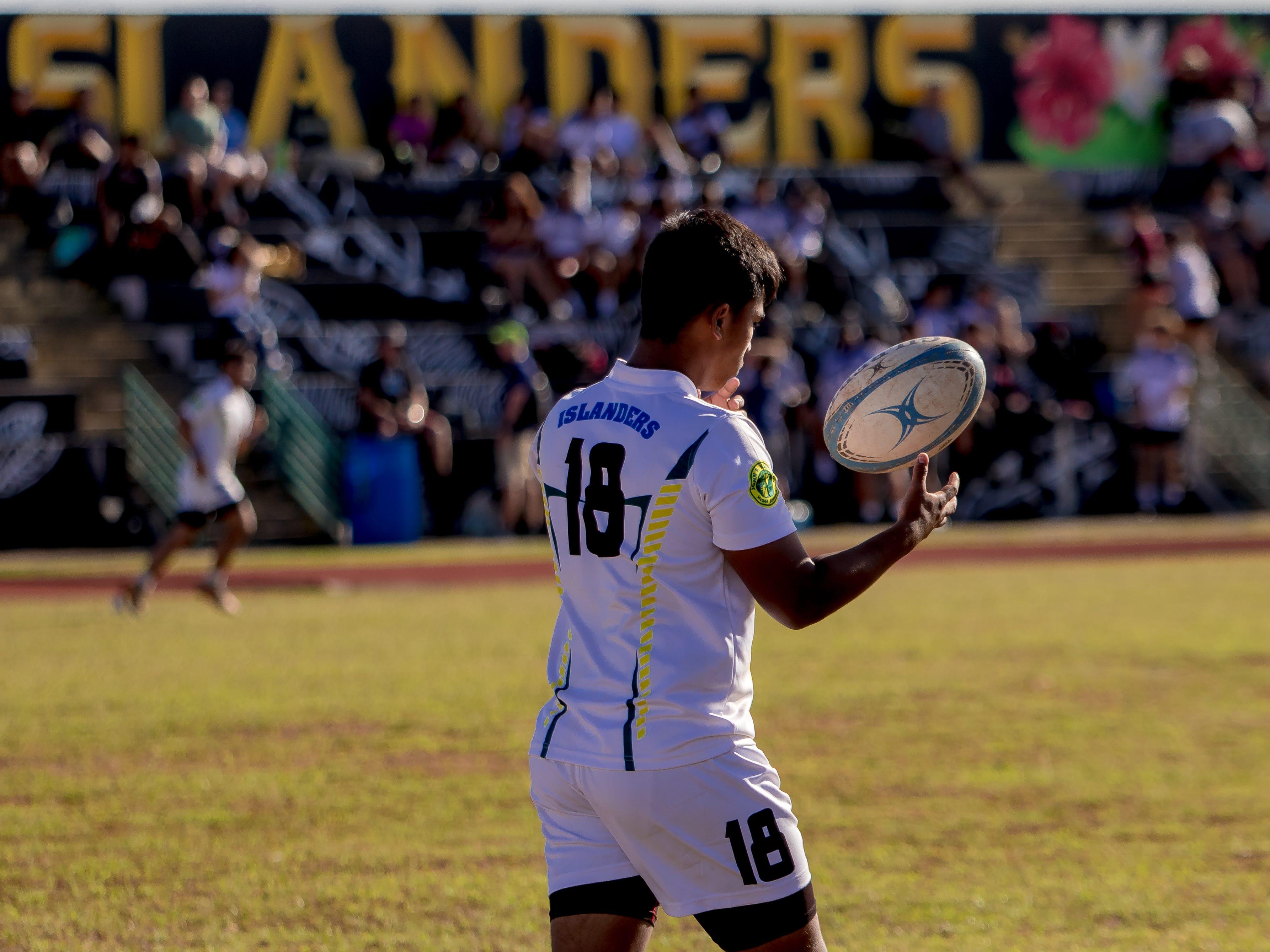 John F. Kennedy High played Okkodo High in an IIAAG/GRFU Boys Rugby match at Ramsey Field on March 6.