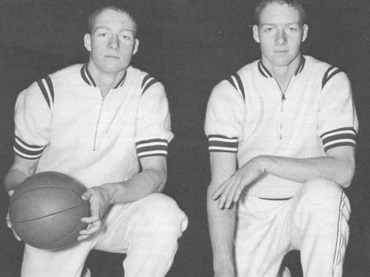 The Van Arsdale brothers, Tom and Dick, shared Mr. Basketball honors in 1961 and led Manual to the state finals.