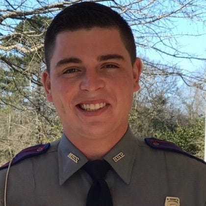 Mississippi trooper saves woman from submerged car after Pike County crash