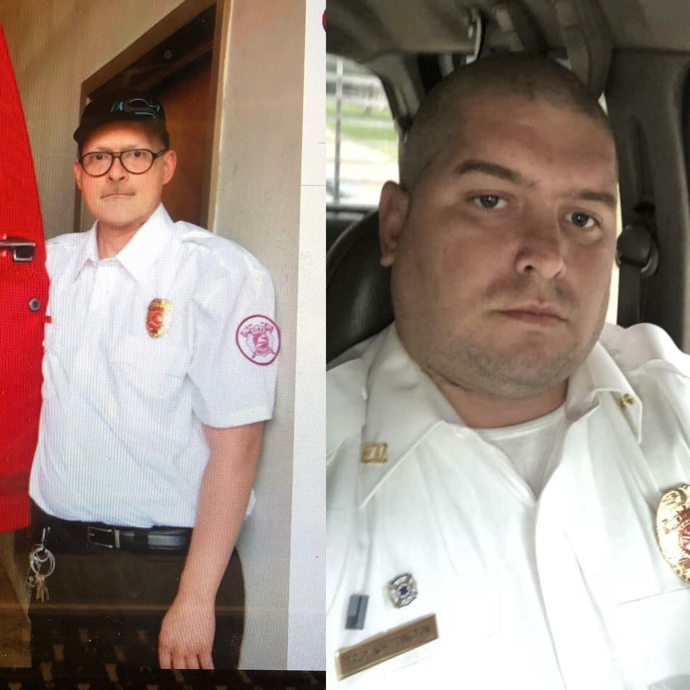 Slain firefighters: One was a cancer survivor, the other served his country.