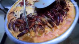 We've hit the start of peak crawfish-eating months — March, April and May. Do you just eat the tail or do you suck the head?