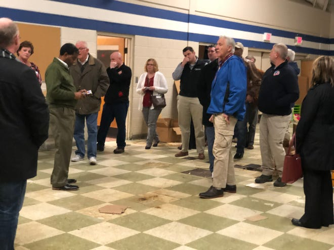 County Commissioner Jimmy Arnold, who is a former principal at Malesus and South Side, talks about the situation with the school building in Malesus three years after it closed.