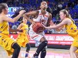 Girls Basketball Highlights: Greenfield 64, Clarkrange 45