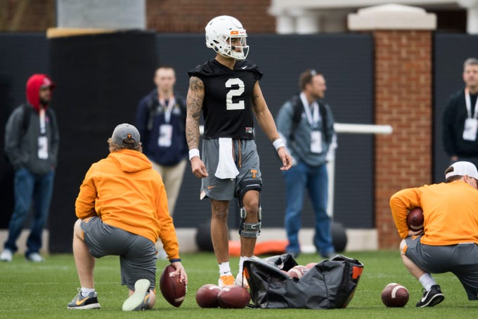First 2019 Tennessee football spring practice