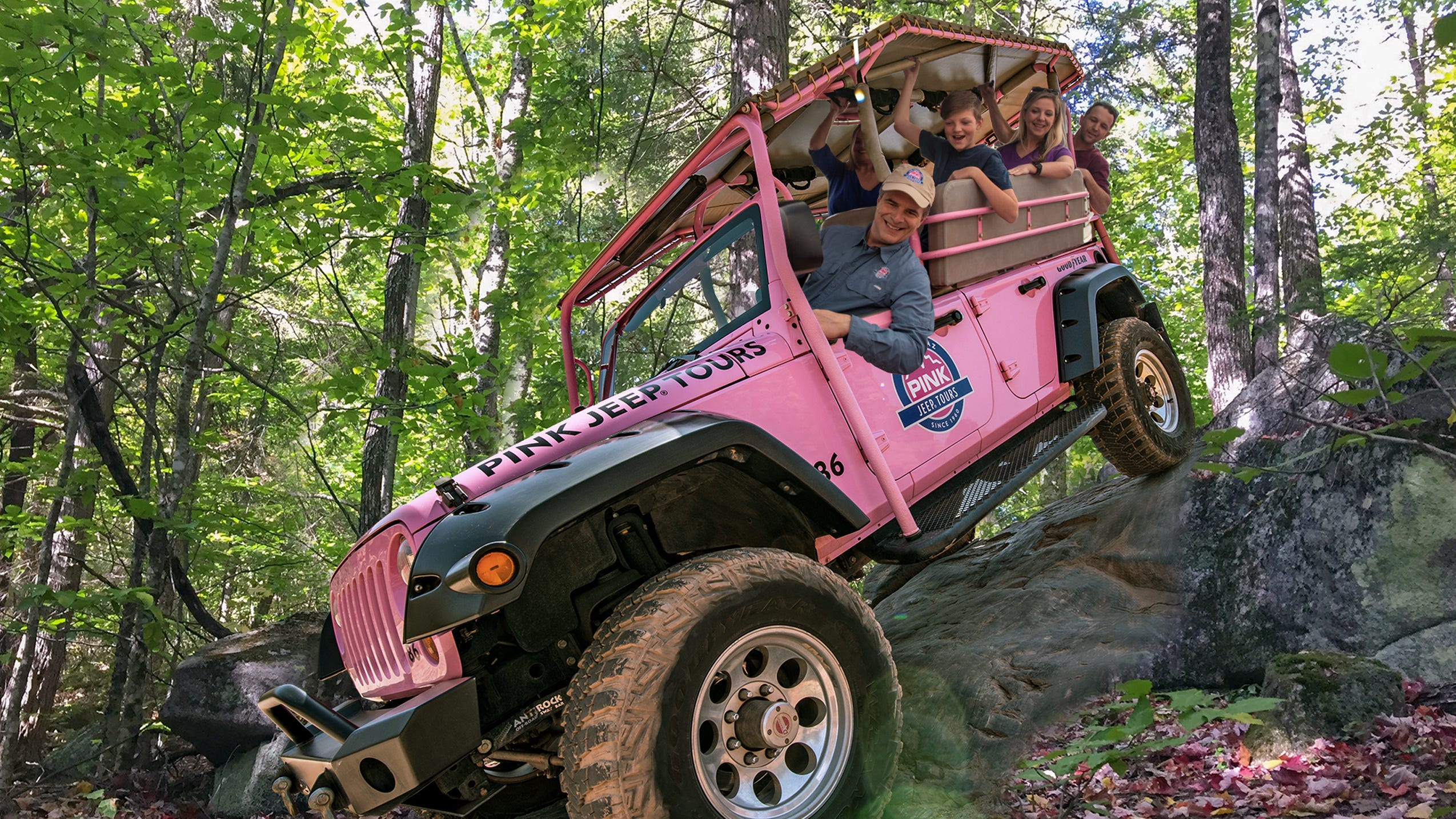 Pink Jeep Adventure Tours Coming To Great Smoky Mountains