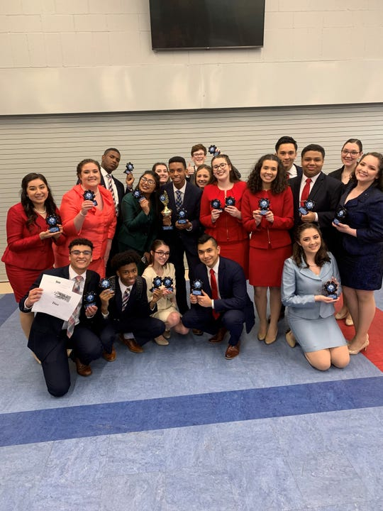 The Comeaux High speech and debate team qualified 19 students to a national tournament later this month in Milwaukee, Wisconsin. The speech team won first place in NCFL District Sweepstakes March 1 for the fifth consecutive year.