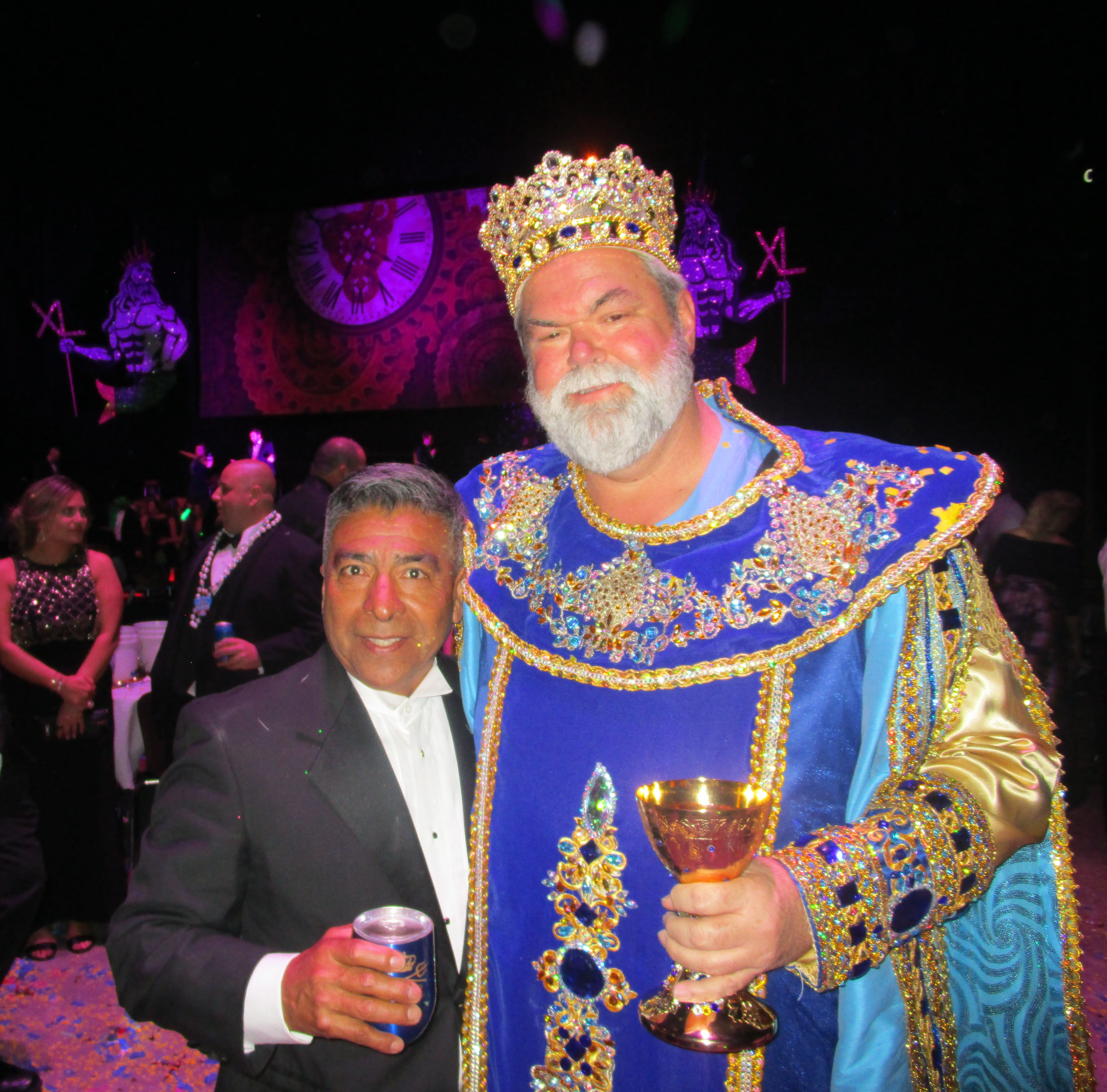 Krewe of Triton goes historical with epic Cajundome party