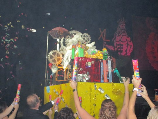 The Krewe of Triton parade and ball was held on March2 at the Cajundome in Lafayette.