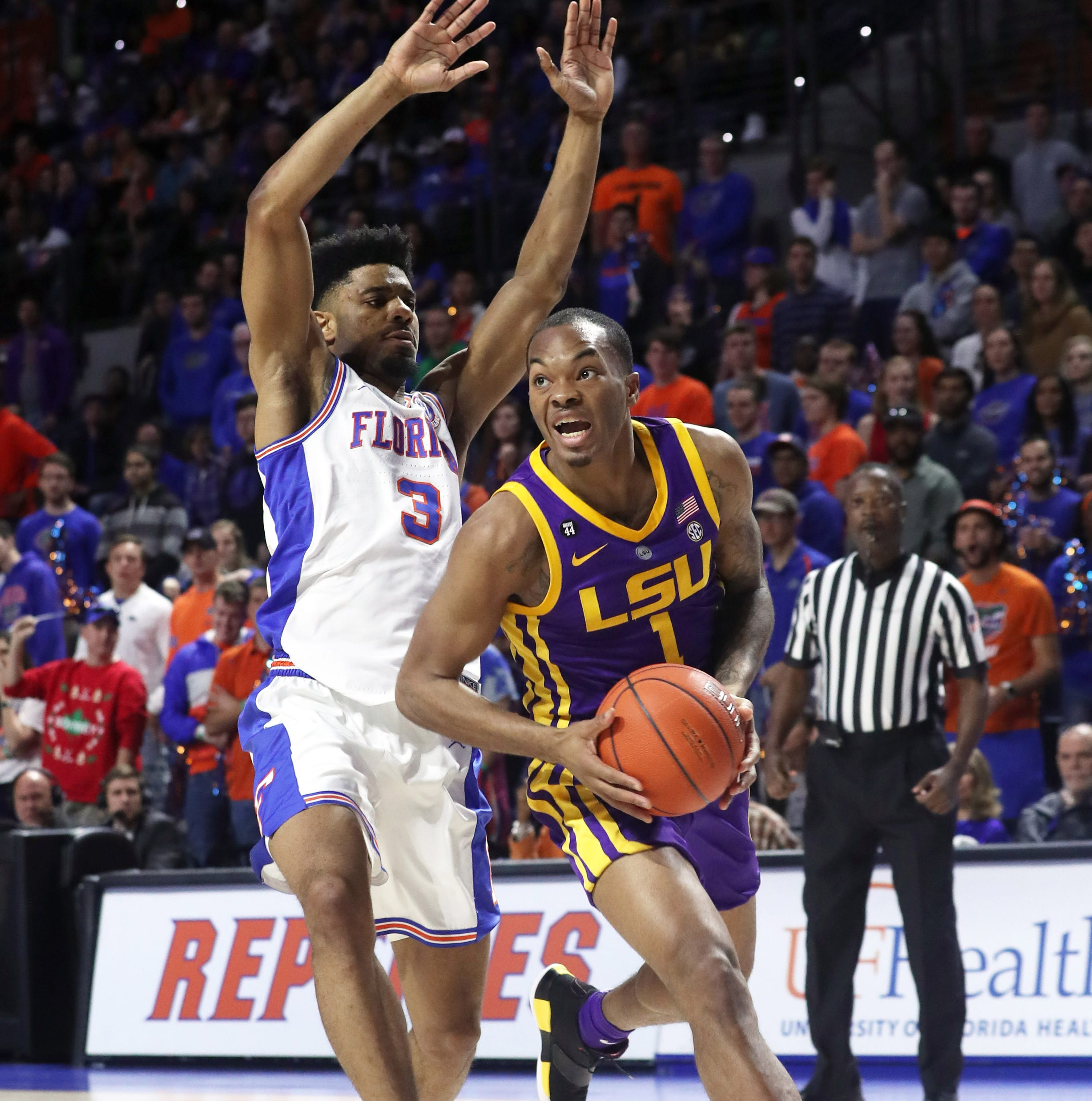 LSU guard Javonte Smart practiced Tuesday, but status for SEC Tournament remains on hold