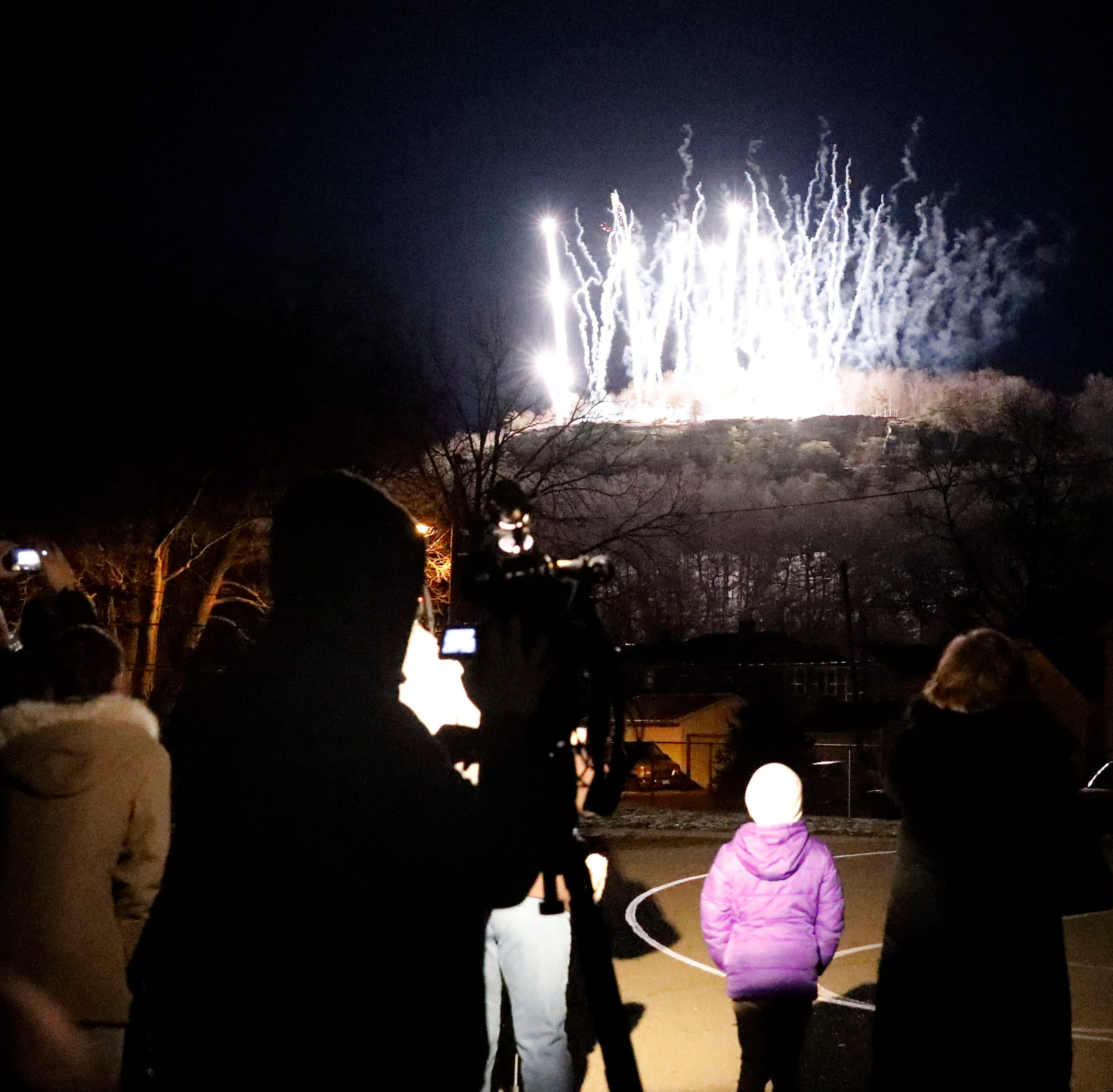 'A symbol of our city': Lancaster makes history, illuminates Mount Pleasant for first time