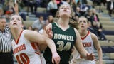 Highlights and interviews from Howell's 58-27 victory over Holly in a girls basketball district semifinal.
