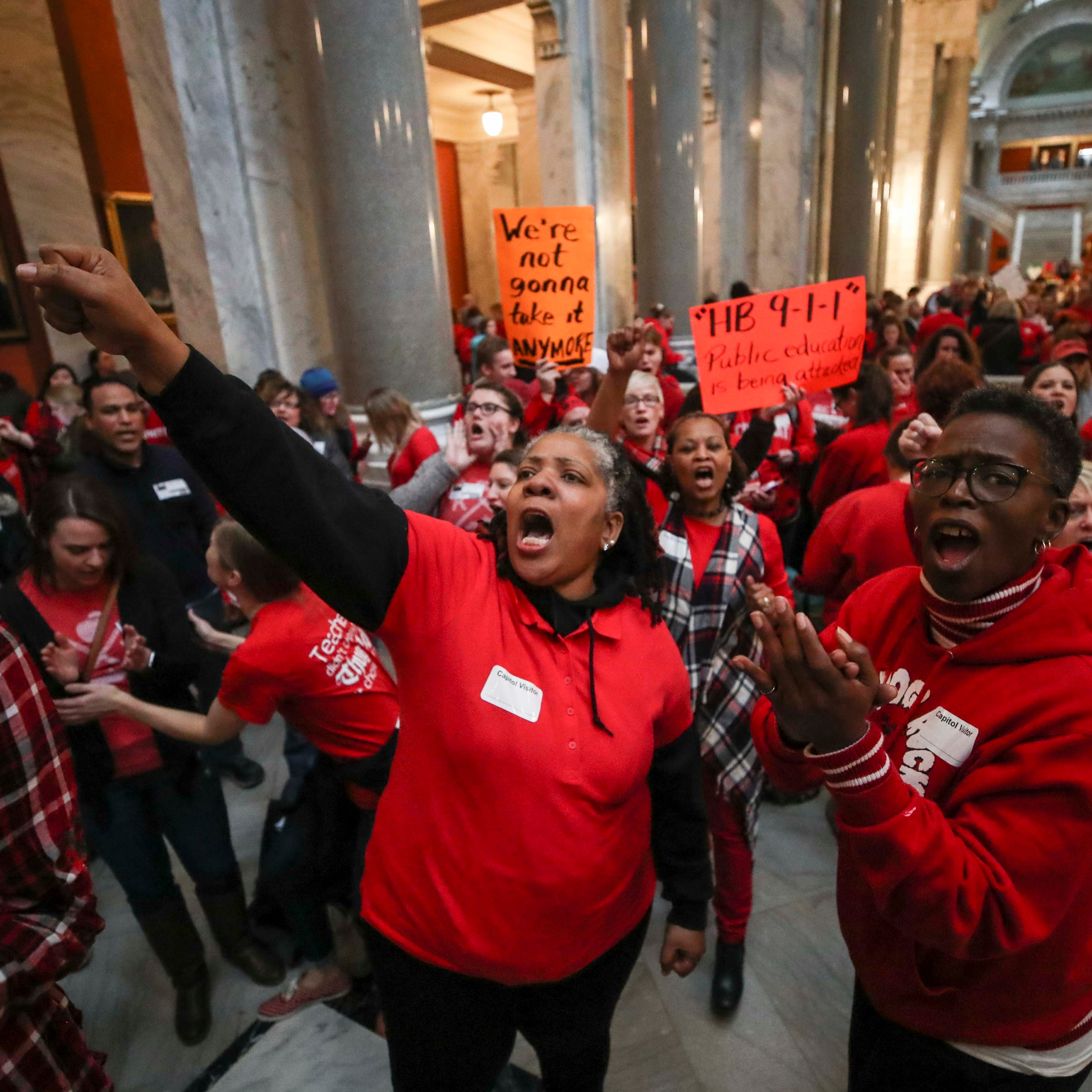 Plan would let JCPS teachers protest next week without closing school