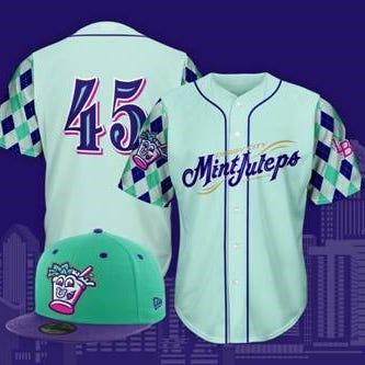 Bats baseball has another festive rebrand – the Derby City Mint Juleps