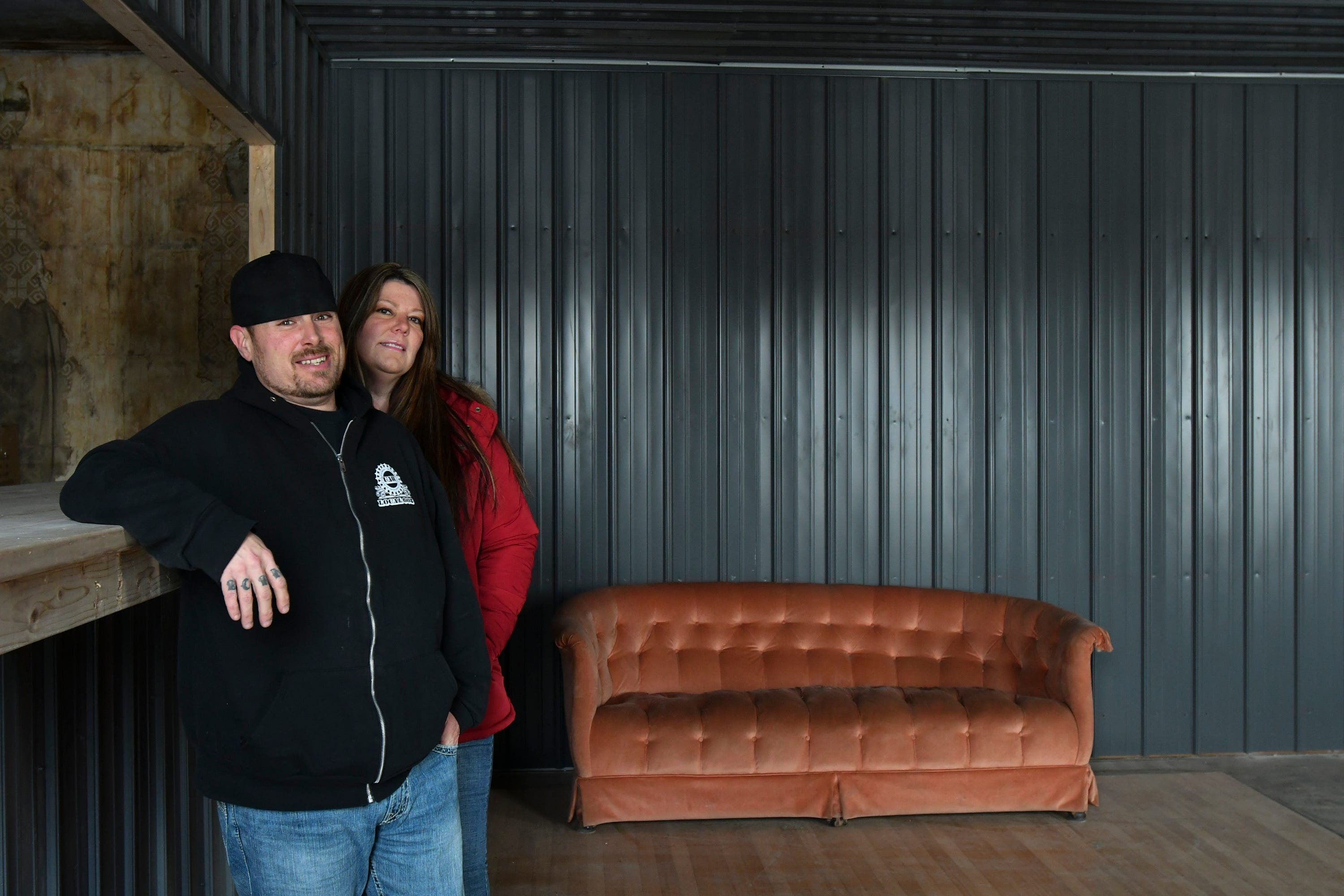 Mike Karl and Cynthia Bell are co-founders of Doobie's Tavern, a marijuana social club that opened March 2 in downtown Elsie. Doobie's occupies a the second floor of a privately-owned two-story building.