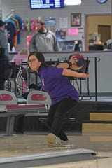 Payge Whitesel hopes to build off her district runner-up finish for Lexington at the state bowling tournament.