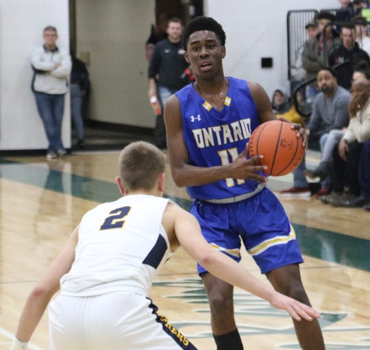 Ontario's Shaquan Coburn finished the game with 26 points after playing every second of the Warriors' triple-overtime loss to the No. 1 seeded Norwalk Truckers.