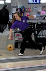 Brittany Salimbene heads into Friday's state bowling tournament as a Division I district champion.