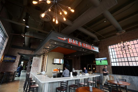 The Malco Powerhouse Cinema Bar and Grill opened Downtown on Thursday.