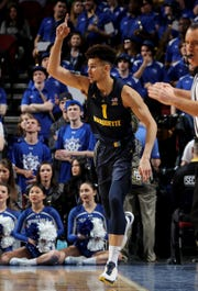The play of freshman Brendan Bailey was one of the few bright spots for Marquette during its four-game slide to end the regular season.