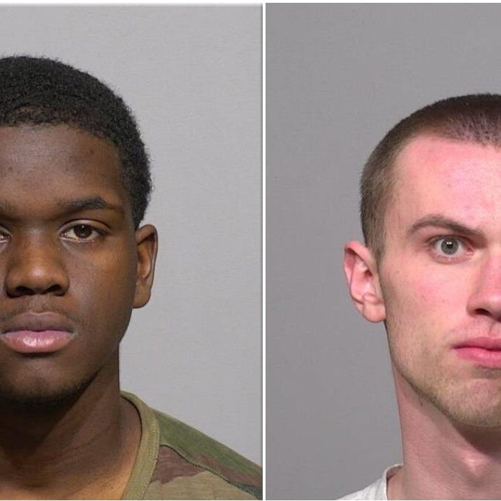 A New Berlin man and a Wauwatosa teen robbed a 15-year-old boy at gunpoint, complaint says