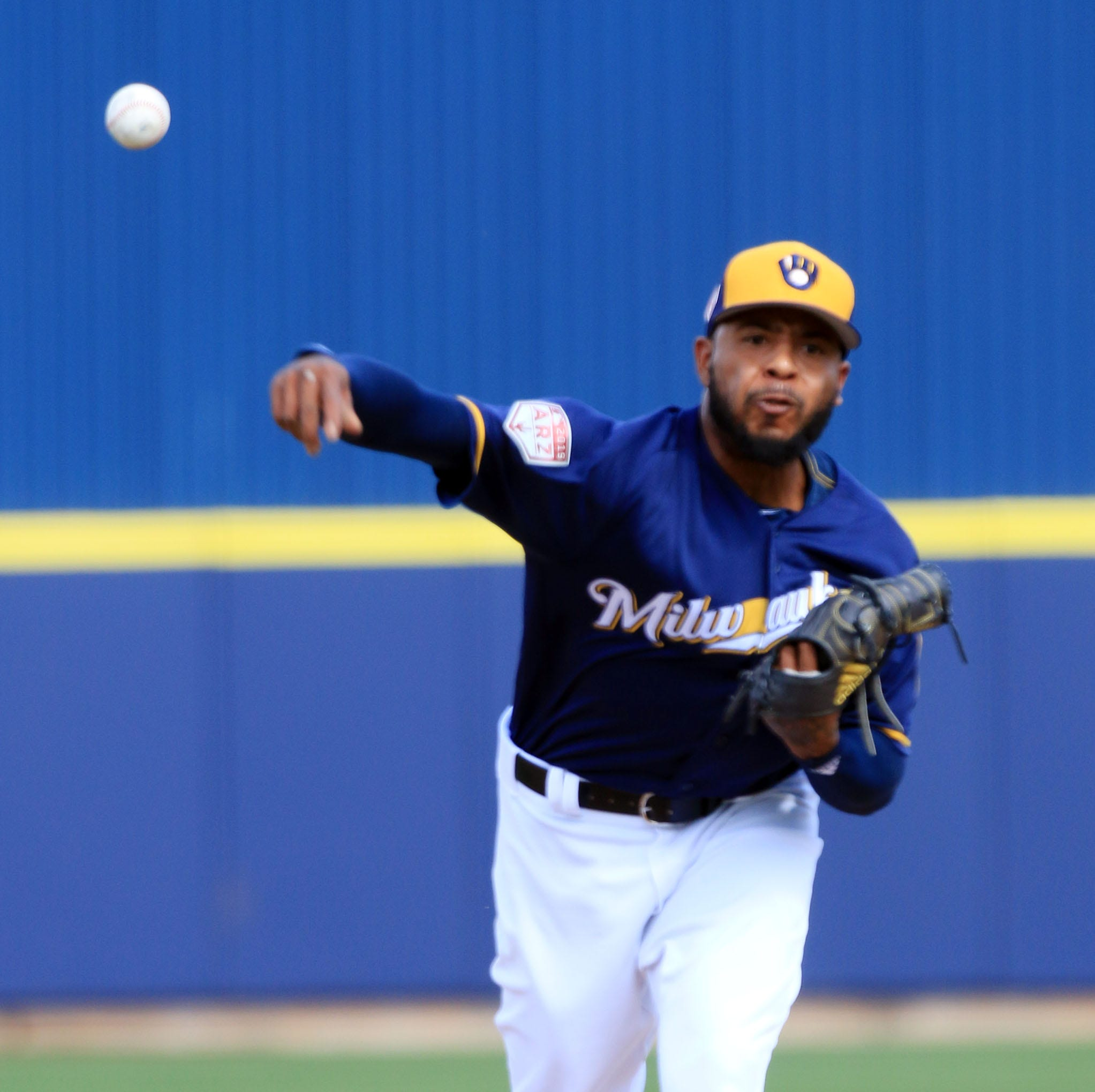 Shoulder issue leaves reliever Jeremy Jeffress squeezed for time to get ready for opening day