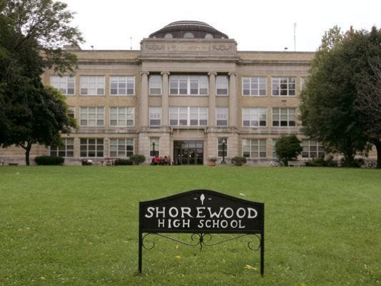 Shorewood High School would see renovations along with the other three Shorewood School District schools if a two question referendum passes in April.