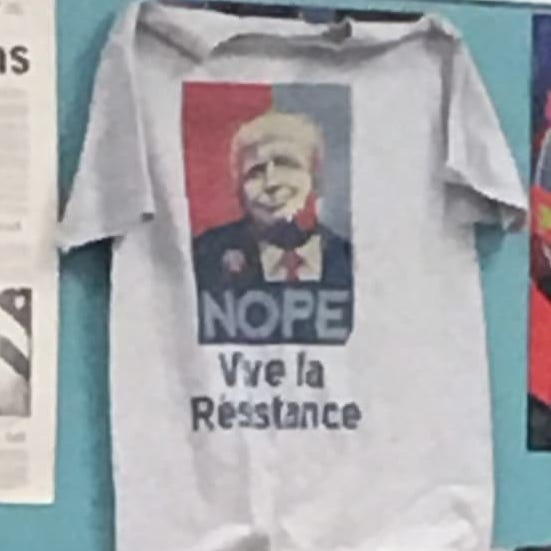 Anti-Trump T-shirt displayed in Roxbury High School classroom causes stir