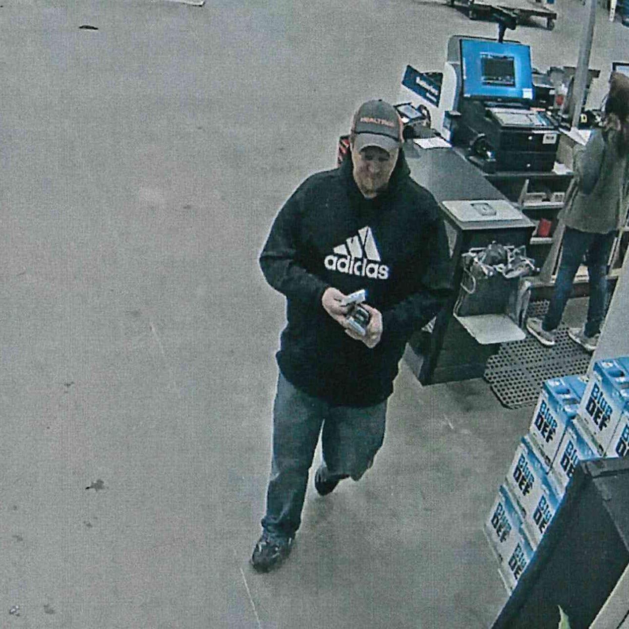 Muncie police seek help in identifying theft suspect
