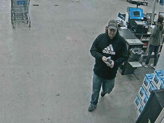 Muncie police last week sought assistance in identifying this man who allegedly stole merchandise from outside two local stores.
