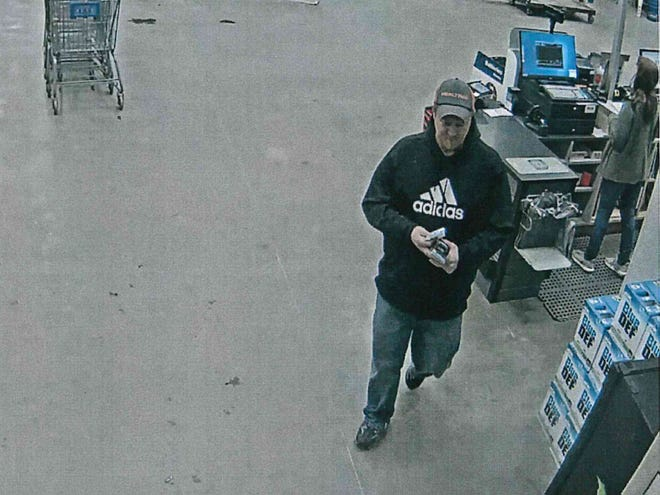 Muncie police are seeking assistance in identifying this man, who allegedly stole merchandise from outside the Lowe's Home Improvement and Rural King stores on Sunday evening.