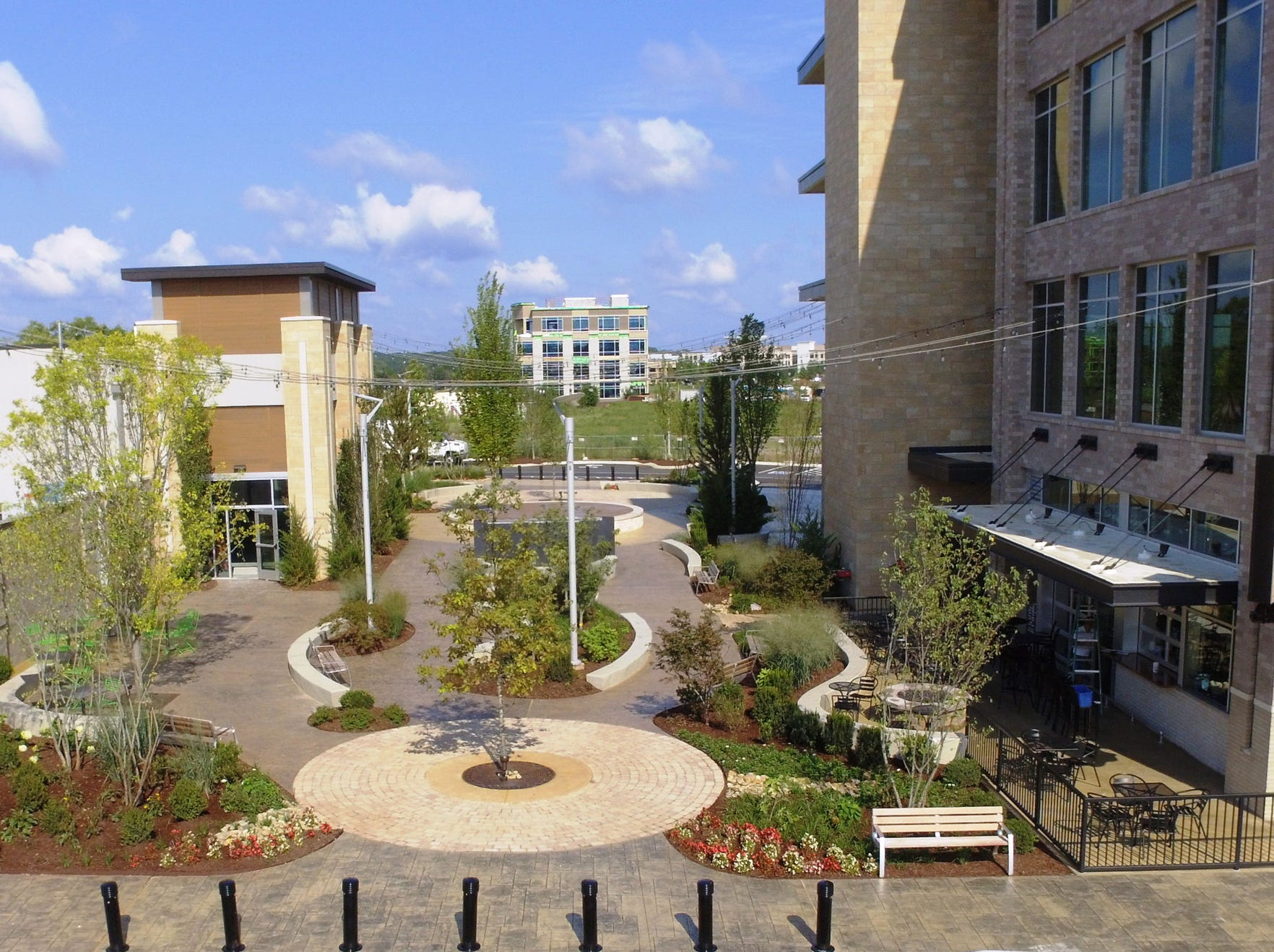 Steakhouse Five, a new restaurant from chef Mitchell Murphree, will be located in the heart of Fountains at Gateway, overlooking the small park in the center of the campus at 1500 Medical Center Parkway in Murfreesboro.