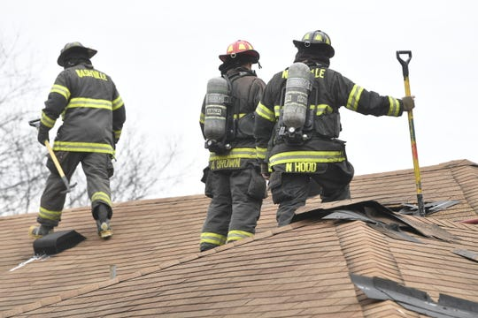 Nashville firefighters on scene of a fire at a daycare in North Nashville Thursday, March 7, 2019