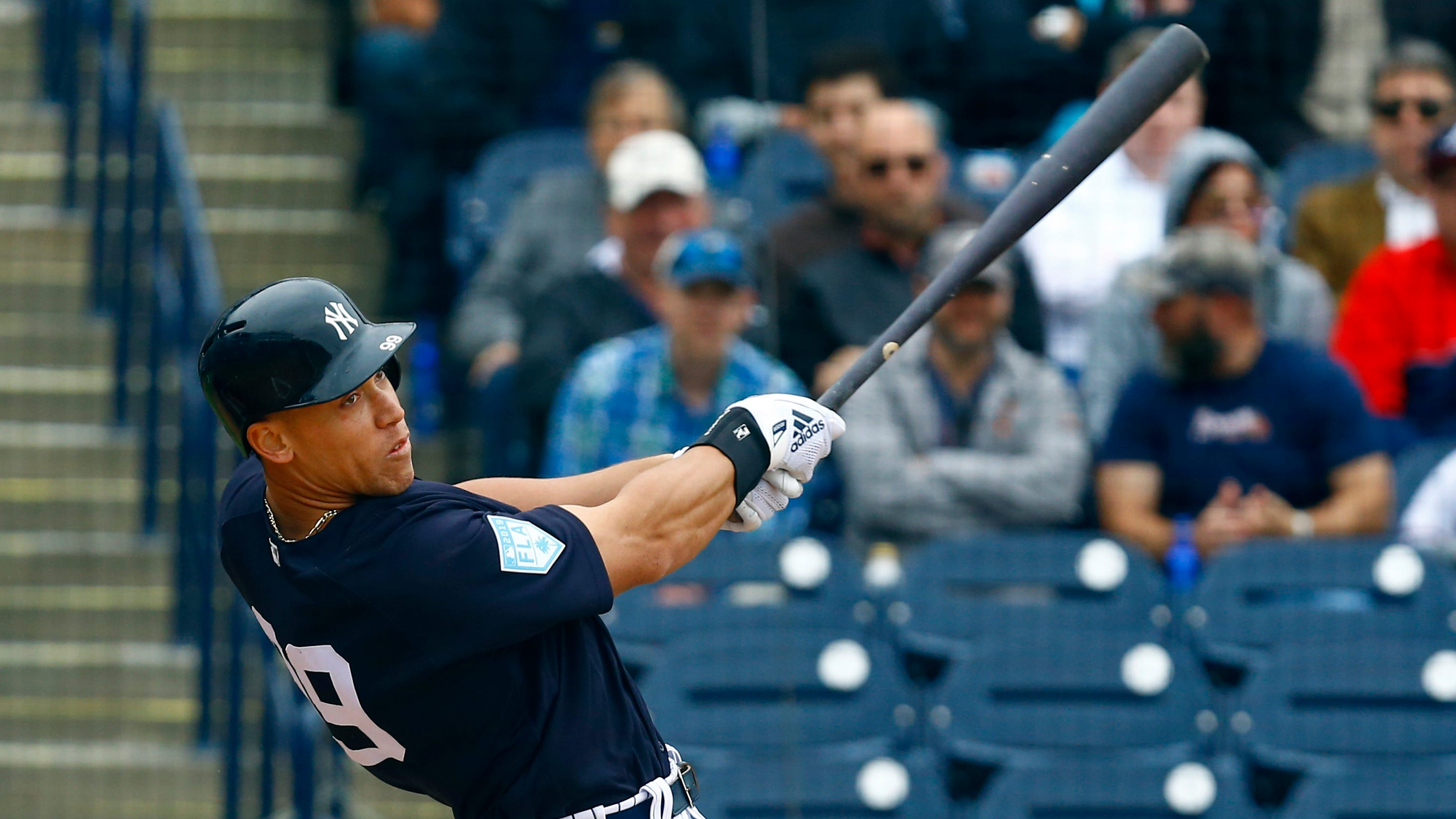 newest collection 65401 474e4 Aaron Judge gets last inexpensive payday from New York Yankees
