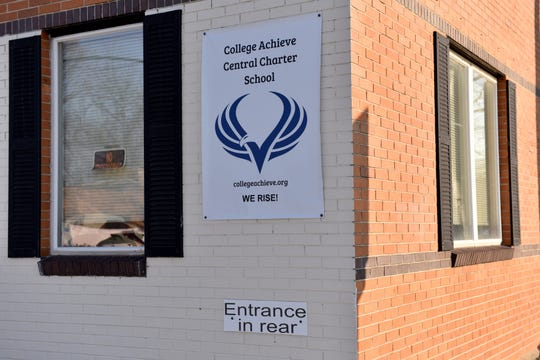College Achieve Central Charter School in Plainfield on Thursday March 7, 2019.
