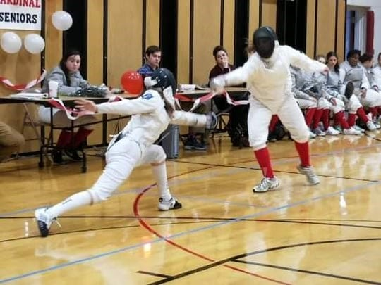 Jenna Waibel and the Pompton Lakes girls fencing team finished the 2018-19 season with a 10-3 record. Waibel placed seventh in the NJSIAA Championships last weekend in the epee weapon.