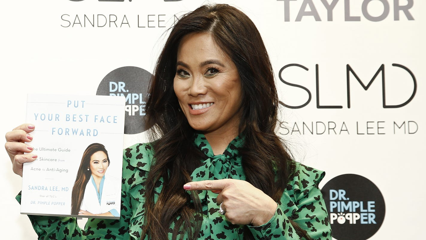 Dr  Pimple Popper on skincare, Holy Grail products, her new book