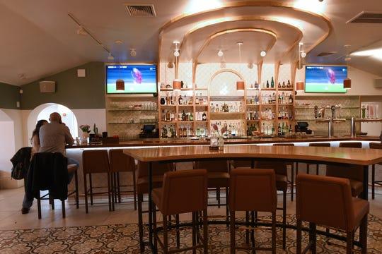 Interior photo of Somos restaurant in North Arlington on Wednesday March 6, 2019.