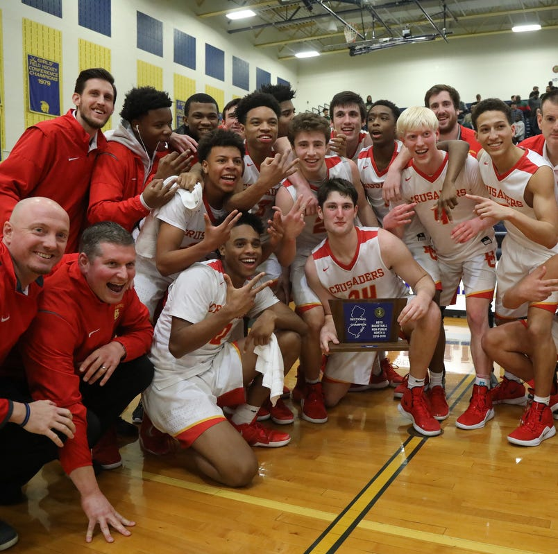 Bergen Catholic boys basketball blows past St. Joseph for sectional title
