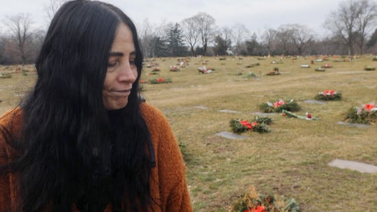 Laura Cambria lost both of her children to overdoses by opioids. She frequently visits  the gravesite of her children at the George Washington Cemetery in Paramus where they are buried.