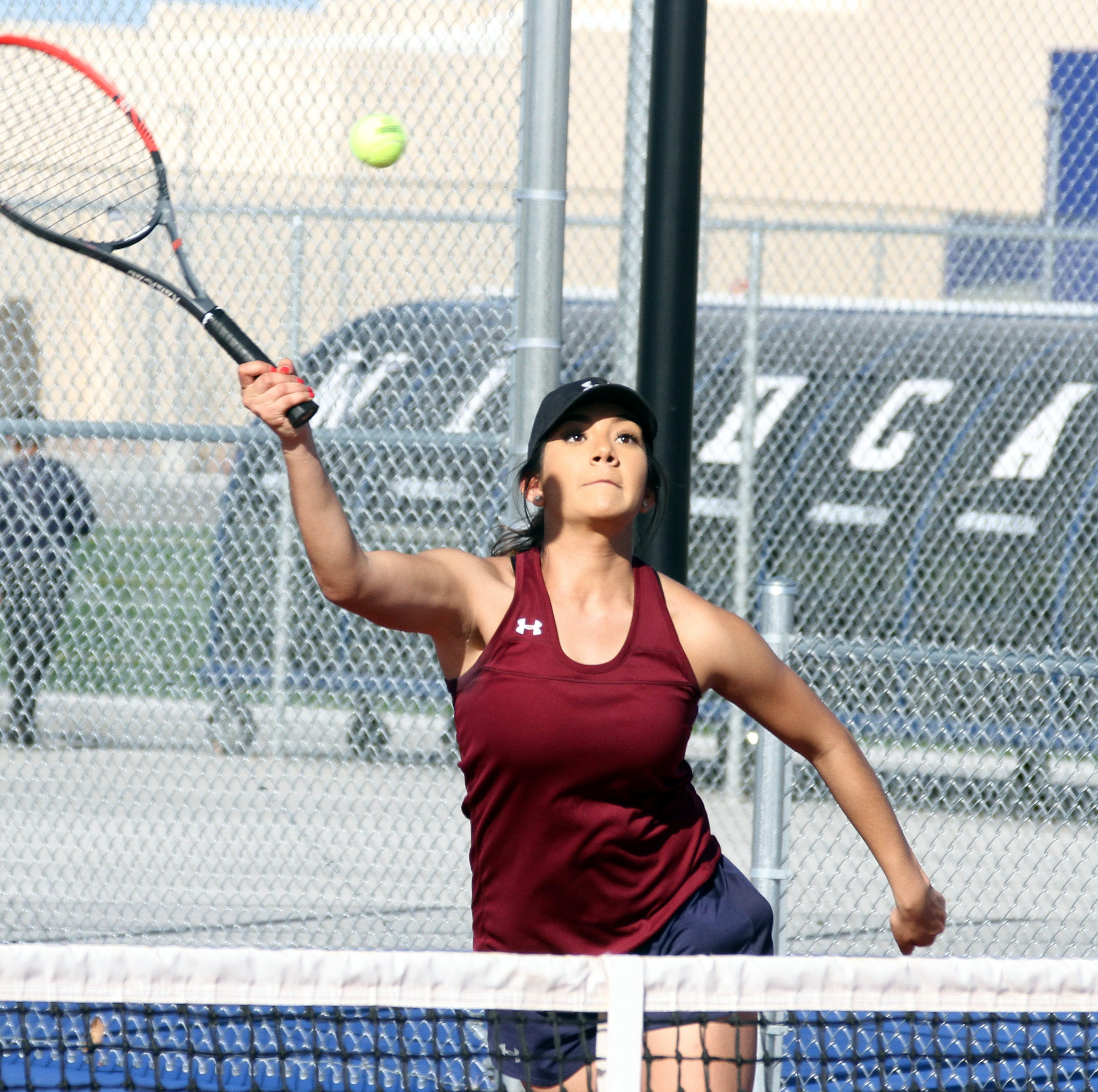 Deming High Lady Wildcats blank Chaparral Lobos in non-district tennis